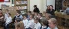 Pasowanie uczniów klasy Inaczytelnika