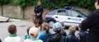Spotkanie zpracownikami Policji