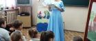 Uroczystość pasowania uczniów klasy pierwszej naczytelników