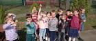 Zajączek wielkanocny odwiedził przedszkolaków